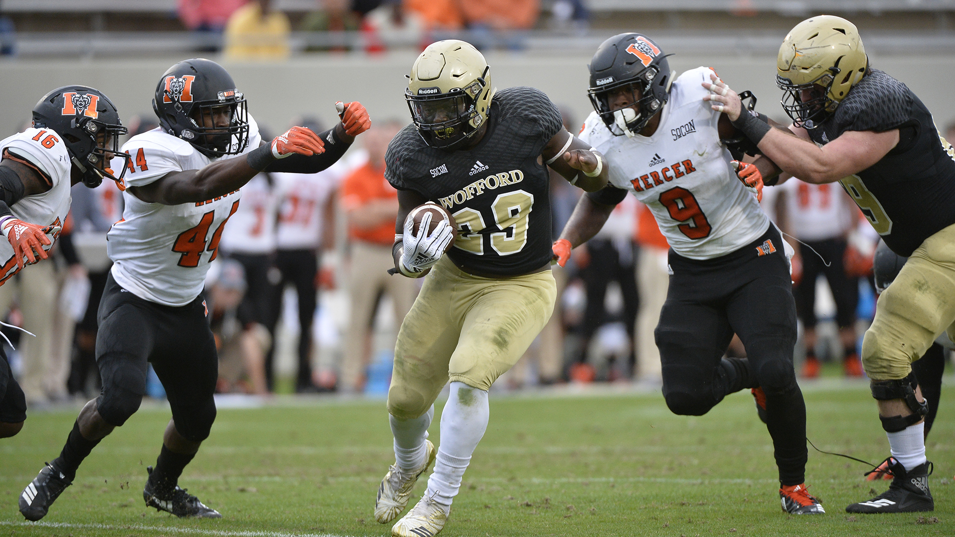 Wofford Football Downs Mercer 42 21 Wofford College Athletics
