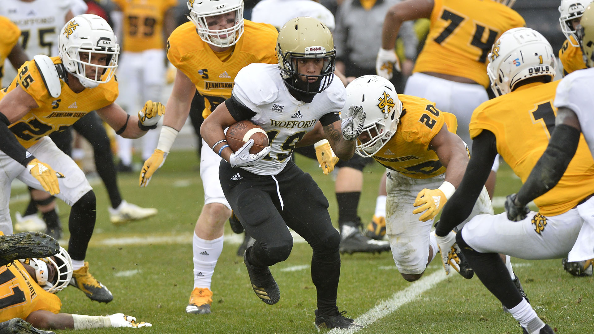 Wofford Football Falls 13 10 At Kennesaw State Wofford College