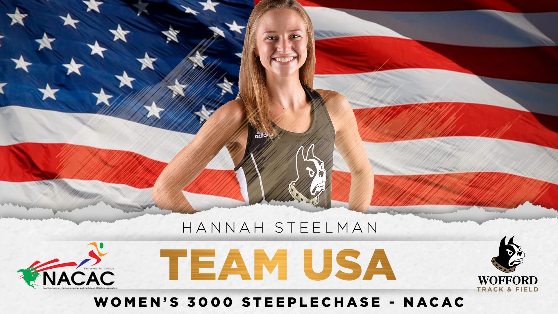 Hannah Steelman To Compete At 2019 NACAC For Team USA - Wofford